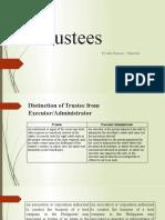Trustees (Rule 98)
