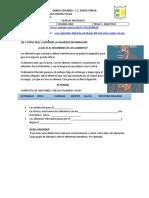 GUIA DE CIENCIAS SEMANA 1 Y 2