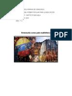 GHC- VENEZUELA COMO PAÍS MULTIÉTNICO (definitivo)