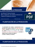 1. Planificación de la Producción