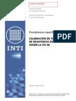 pec02 CALIB DE TERMOMETROS DE RESISTENCIA DE PLATINO ITS-90