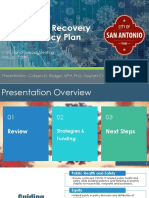 San Antonio COVID-19 Community Recovery and Resiliency plan