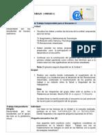Agenda y Criterios U2