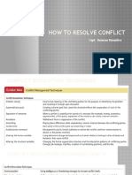 How to Resolve Conflict UPDATED