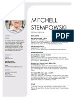 Mitchell Stempowski - Resume