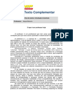 Texto Complementar - Letras