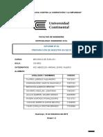Informe 03 - Preparacion de muestra en seco