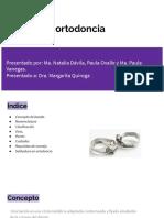 Bandas ortodoncia