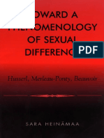Sara Heinämaa - Toward a Phenomenology of Sexual Difference_ Husserl, Merleau-Ponty, Beauvoir (2004, Rowman & Littlefield Publishers).pdf