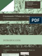 Crecimiento Urbano en Lima - REALIDAD NACIONAL URP