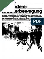 Karl Heinz Roth - Die andere Arbeiterbewegung