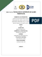 5.3 REPORTE DE LOS PRECEPTOS JURIDICOS
