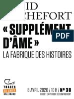 """9782072911132 - David Rochefort - """"Supplément d'âme"""""""