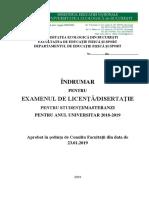 Indrumar Licenta Disertatie 2019