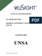 Manual de MineSight