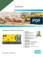 Catálogo Geradores QAS