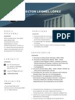 Curriculum Vitae_Héctor López