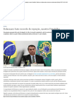 DW Bolsonaro bate recorde de rejeição, mostra Datafolha _ Notícias e análises sobre os fatos mais relevantes do Brasil _ DW _ 28.05.2020