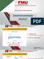 Tutorial _Instalação - FlexSim 2020
