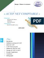 ACTIF NET COMPTABLE