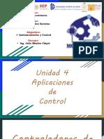 Unidad 4. Aplicaciones de control