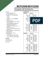 MCP23008 I2C 21919b