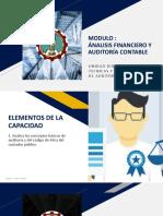 DEFINICION DE AUDITORIA Y CODIGO DE ETICA DEL CONTADOR