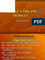 WHAT'S THE PPP MODEL