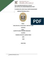 analisis de la casacion N°2060-2017-LIMA