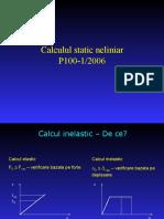 Calculul Static Neliniar