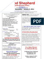 Newsletter Jan 5