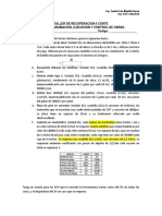 recuperacion C II CORTE PROGRAMACION DE OBRAS