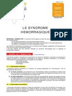 Syndrome hemorragique.pdf