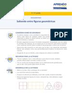 SALTANDO ENTRE FIGURAS GEOMETRICAS  5° Y  6° PRIMARIA