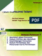 Teori Konsumsi Islami