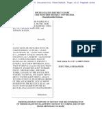 Memorandum In Support of Defendant's Motion for Reconsideration