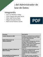 Funciones del Administrador de Base de Datos.pptx