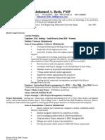 Mreda,PMP Resume..