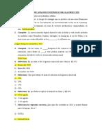 REACTIVOS DE ANÁLISIS ECONÓMICO PARA LA DIRECCIÓN