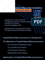 Capital-Based Macro-Economics