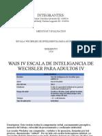 DIAPOSITIVAS- WAIS IV