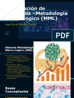 Formulación de Proyectos –Metodología Marco Lógico