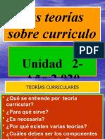 LAS TEORIAS SOBRE CURRICULO  Unidad II CurrÃ_culum Educacional).pptx