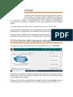 Campus Virtual - Estudiantes de Fomación Docente