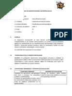 SILABO DE MANIFESTACIONES ANTROPOLOGICAS