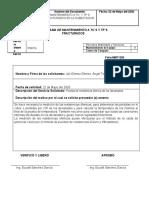 Programa de mantenimiento a TC´S Y TP´S-Prueba de resistencia de devanados