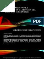 PP 6 ELECCION DE FORO CONVENIENTE.pptx