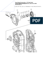 Transmission - Valve, Regulator and Oil Pump