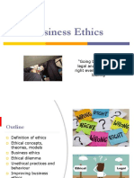Business Ethics Corporate Governance