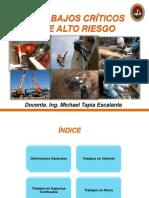 2. Trabajos de alto riesgo
